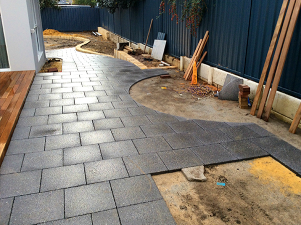 front-pavers-before