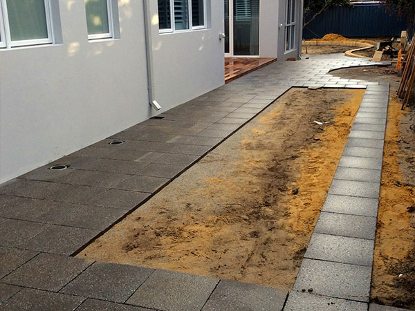 side-pavers-before